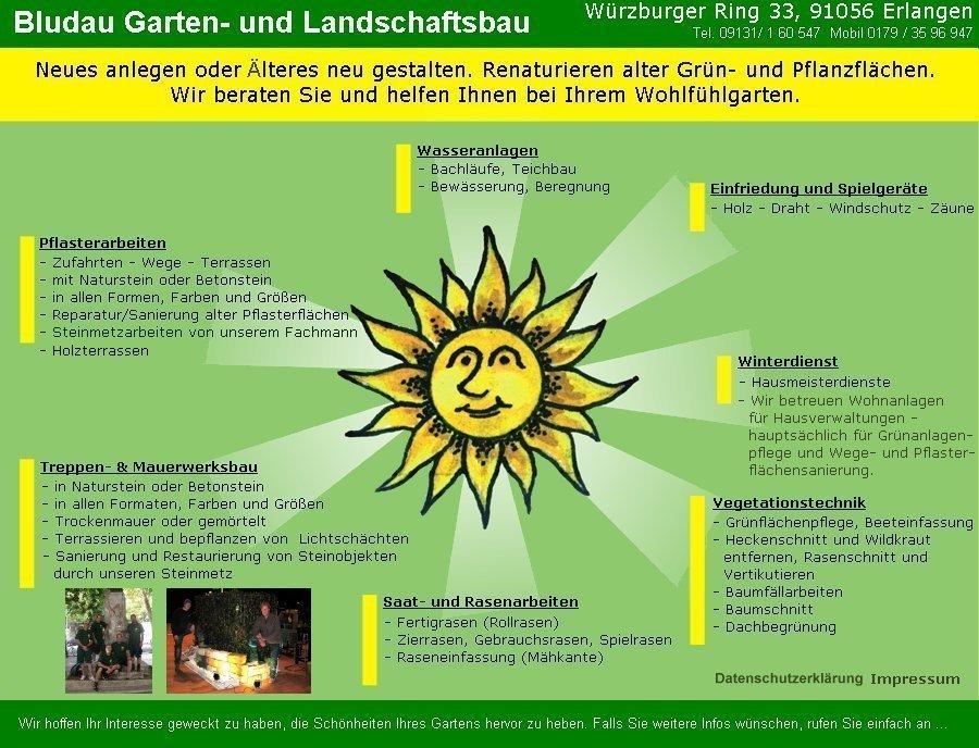 Gartenbau Bludau :::